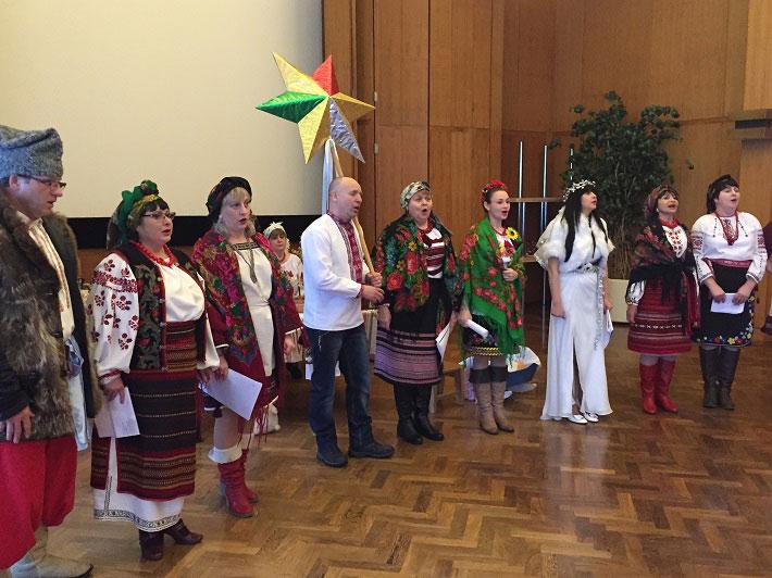 Різдвяне свято у Посольстві України у Фінляндії. (Фото: Посольство України у Фінляндії)
