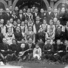 Хор в селі Улючі. (Фото з родинного архіву)