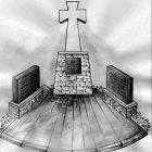 """Проєкт монумента """"Кримчанам, загиблим у боях за єдність України""""."""