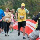 """На трасі маратону. (Фото: """"Укрінформ"""")"""
