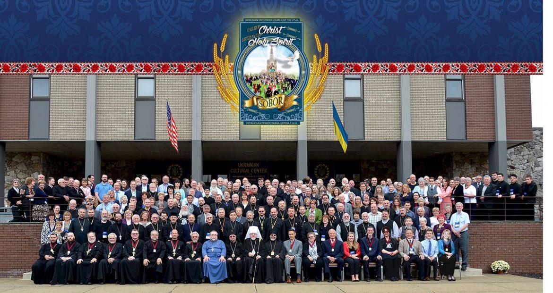 Делеґати XXI Собору Української Православної Церкви США в Савт-Банд-Бруку, Ню-Джерзі. (Фото: Єлизавета Симоненко)