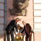 Меморіяльна дошка в Охтирці в пам'ять Івана Багряного.