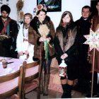 Колядники-полазники прийшли до Софії і Ярослава Холявків з Сянока.