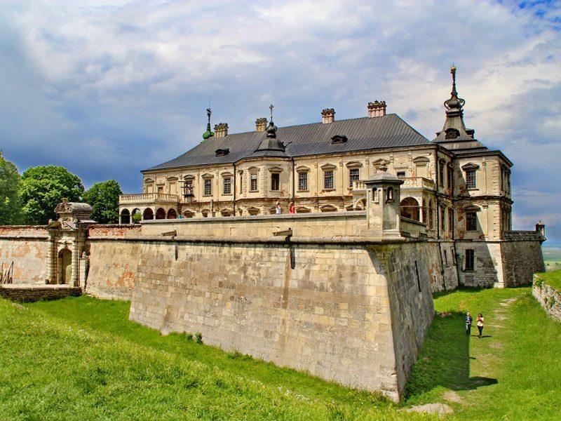 Підгорецький замок в Львівській області.