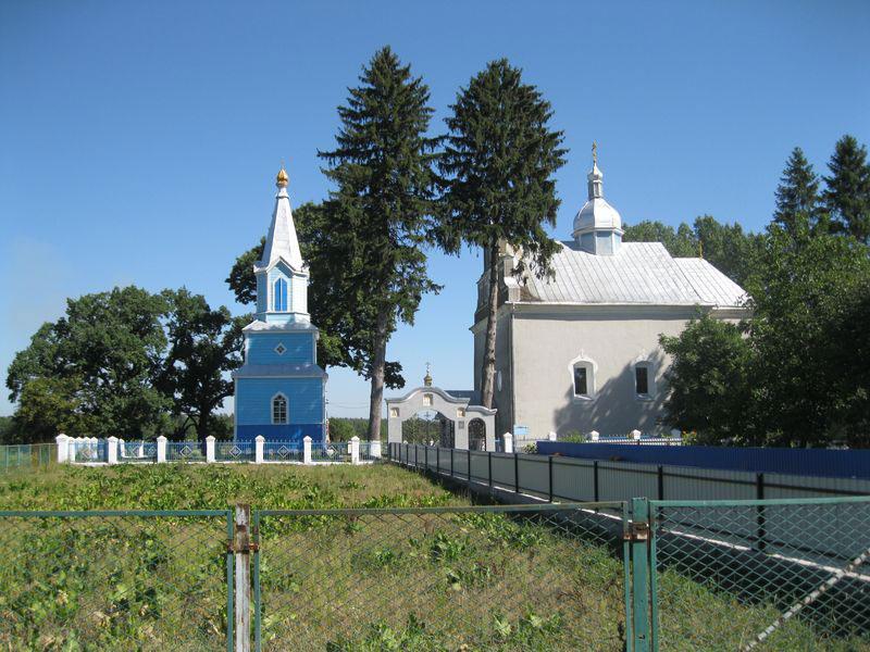 Церква Преображення Господнього в Четвертні. (Фото: Володимир Рожко)