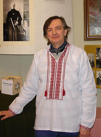 Поет Віктор Єганов. (Фото: Георгій Лук'янчук)